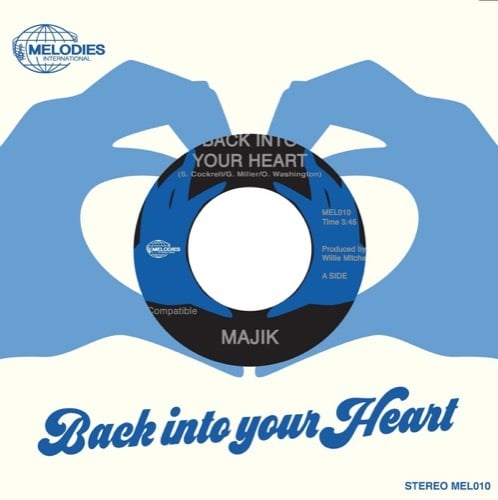 Majik - Back Into Your Heart Incl.Poster - MEL010 - MELODIES INTERNATIONAL