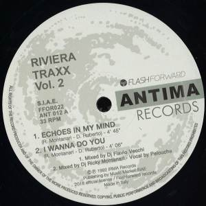 Riviera Traxx - Vol 2 - FFOR022 - FLASH FORWARD