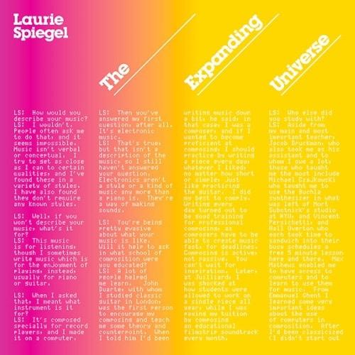 Laurie Spiegel - The Expanding Universe - UWLP19 - UNSEEN WORLDS