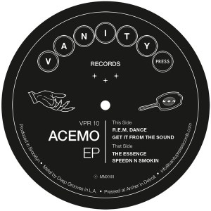 Acemo - Acemo Ep - VPR-10 - VANITY PRESS