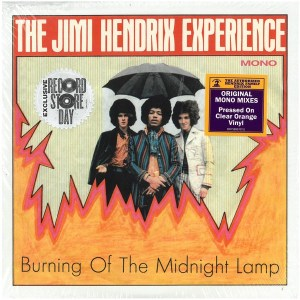 Jimi Hendrix Experience - Burning Of The Midnight Lamp - 0190758957678 - LEGACY