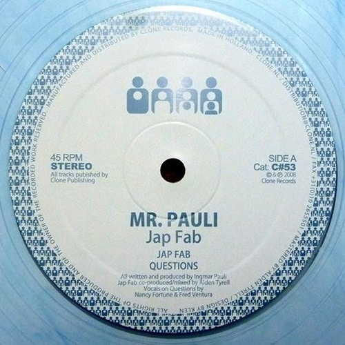 Mr. Pauli - Jap Fab (Ltd Edition) - C#53 - CLONE