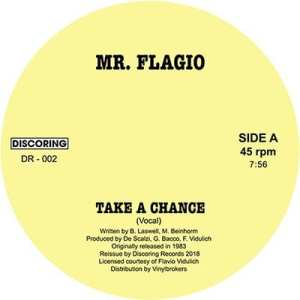 Mr Flagio - Take A Chance - DR-002 - DISCORING