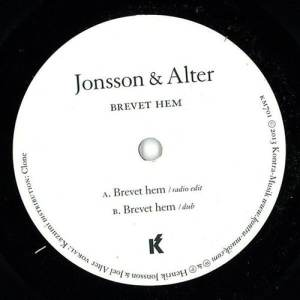 Jonsson/Alter - Brevet Hem - KM701 - KONTRA-MUSIK