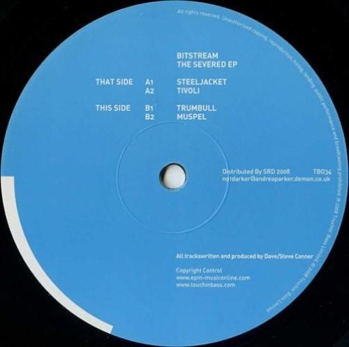 Bitstream - The Severed EP - TB034 - TOUCHINBASS