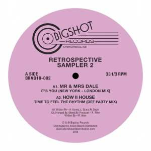 Various - Big Shot Records Retrospective Sampler 2 - BRAB18-002 - BIG SHOT RECORDS