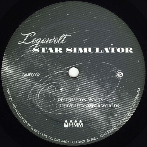 Legowelt - Star Simulator - CJFD32 - Clone Jack For Daze