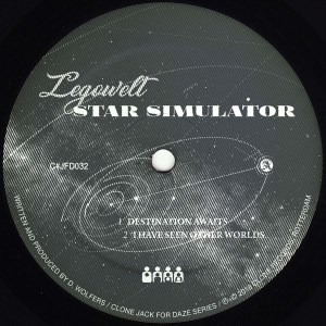 Legowelt - Star Simulator - CJFD32 - CLONE JACK FOR DAZE