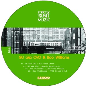 Glenn Underground/Boo Williams - GU & Boo Project - SJU12R29 - STRICTLY JAZZ UNIT MUZIC