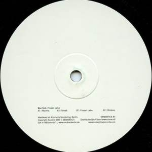 Woo York - Frozen Lake - Sem084 - SEMANTICA RECORDS