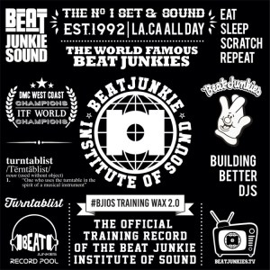 Beat Junkies - BJOIS Training Wax 2.0 - BJIOS002 - BEAT JUNKIE SOUND