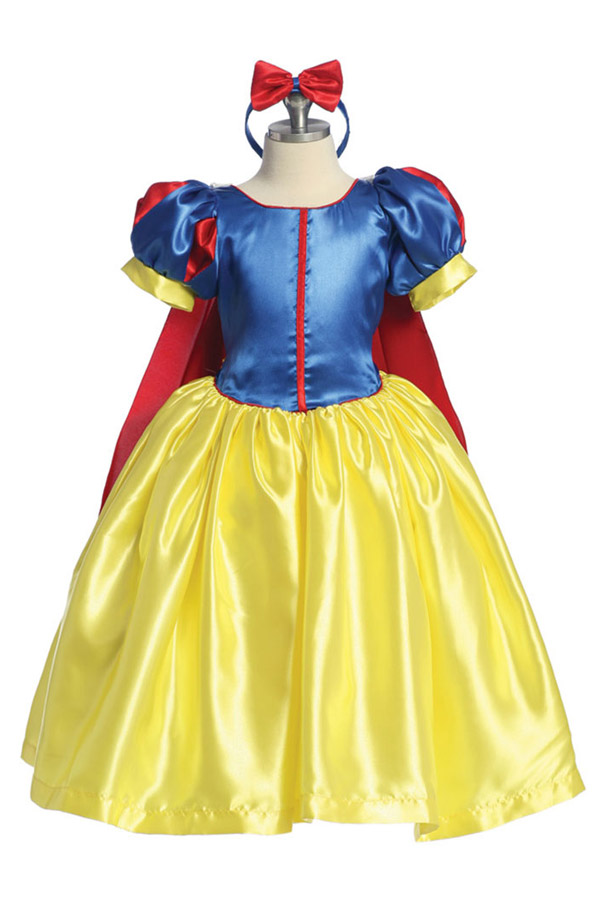 snow white costume for girls high quality