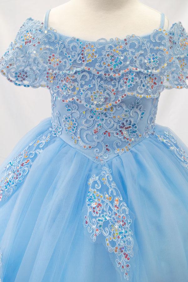 wholesale kids clothing blue dress