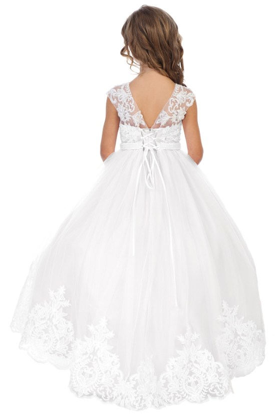 white communion dress for girls