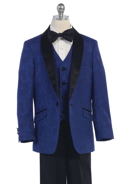 wholesale brocade boys suit