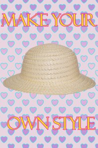 Mayoreo sombrero de niñas por dozena