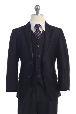 H5-13001 Husky black suit