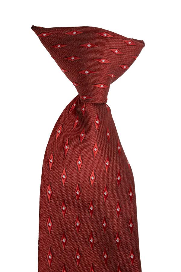 burgundy clip tie by dozen