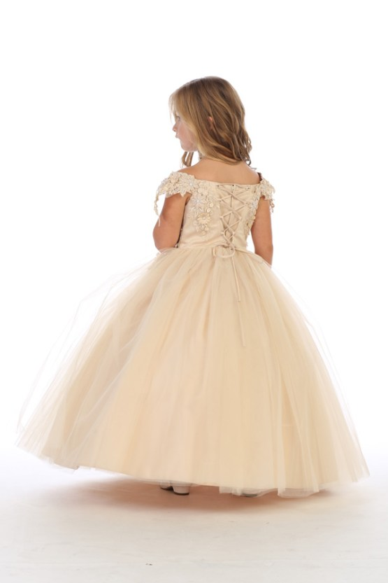 8077 bijan kids wholesale girls pageant dresses