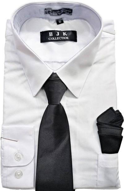 Wholesale white dress shirt for boys