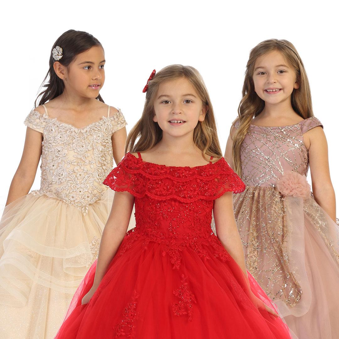 wholesale flower girl dresses