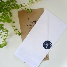 geboortekaartje op maat voor Joah sluitzegel