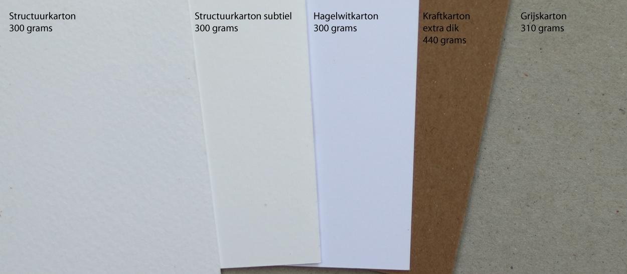 papiersoorten bij Bis totaal