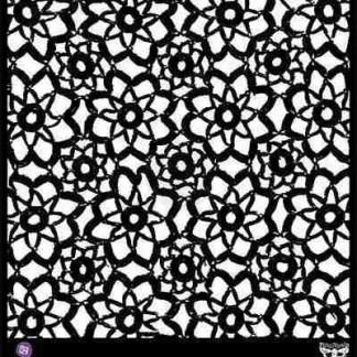 stencil lace / kant
