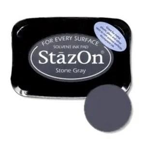 Stazon stempelinkt - stone grey