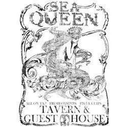 Iron orchid designs transfer Sea queen - large