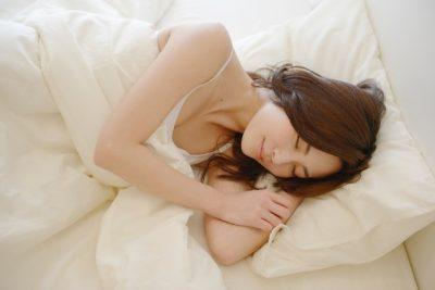 乾燥肌、睡眠