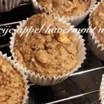 Suikervrije appel havermout muffins