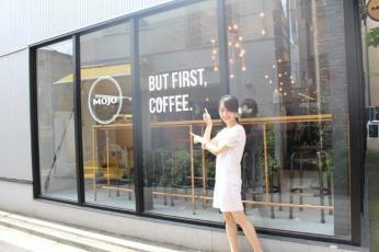 今日は原宿Mojo Coffeeに