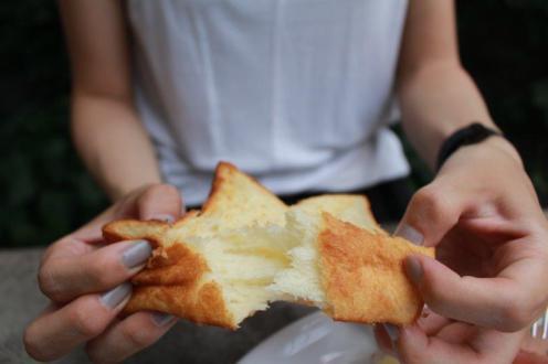 パンももっちもち~