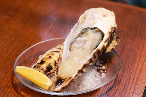 その日に採れた新鮮な牡蠣が食べれます^^