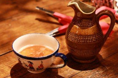 フランスではガレットにシードル(りんごの発泡酒)を合わせるのがスタンダードみたいです!