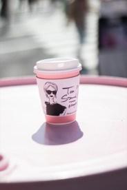 ドラム缶もピンク