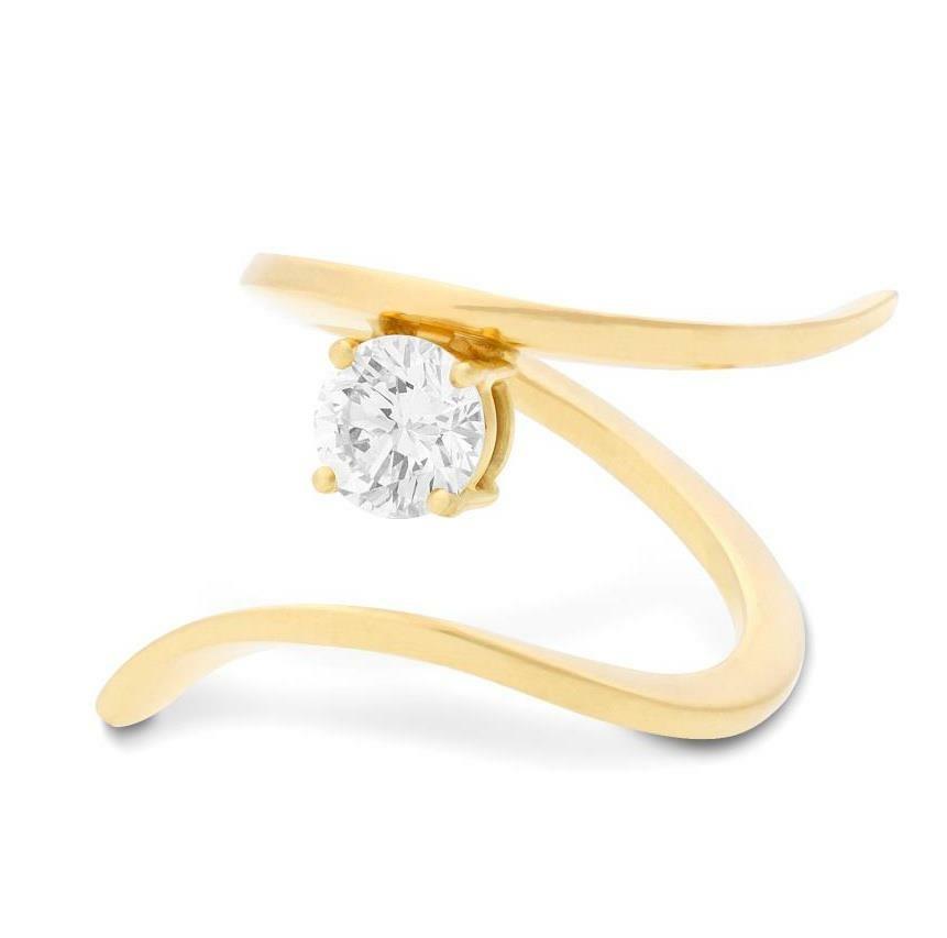 Bague Ruban Diamant Arthabilis