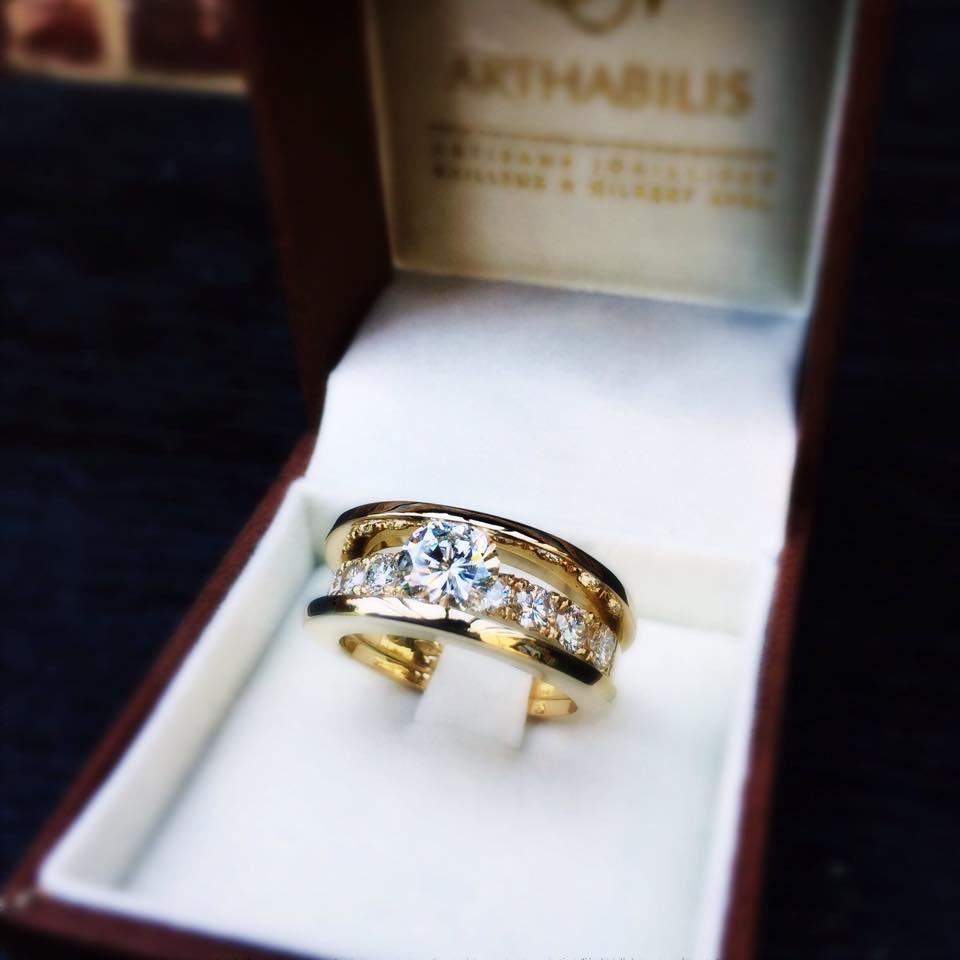 Trois et moi diamant Arthabilis