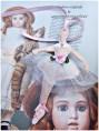 poupée danseuse feutrine tutu dentelle marque page ou decoration lacaudry creation