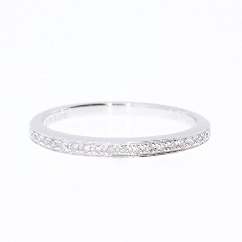 Bague-Femme-Pavage-Or-Blanc-3751000-et-Diamant-Brillant-010-Carat-HI-I1-0