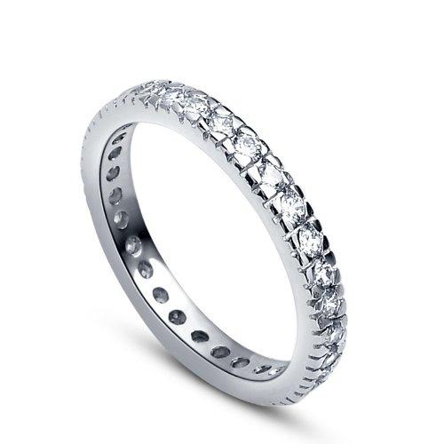Bague de mariage femme en argent