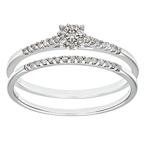 Ensemble-Bague-de-fianailles-et-alliance-Femme-Or-Blanc-3751000-9-Cts-17-Gr-Diamant-T-50-0