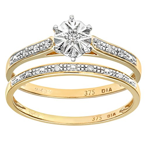 Ensemble-Bague-de-fianailles-et-alliance-Femme-Or-Jaune-3751000-9-Cts-17-Gr-Diamant-T-49-0