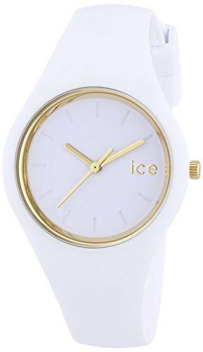 ICE-Watch-ICE-Glam-White-Small-Montre-femme-Quartz-Analogique-Cadran-Blanc-Bracelet-Silicone-Blanc-ICEGLWESS14-0