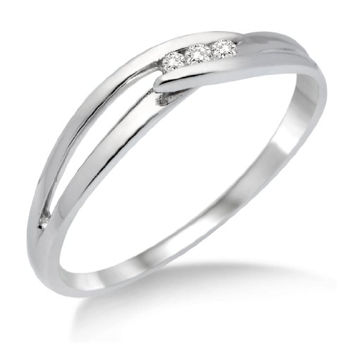 Miore-MA940RM-Bague-Femme-Or-blanc-3751000-9-carats-106-gr-Diamant-0075-cts-T-52-0
