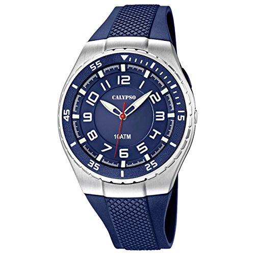 Calypso-by-Festina-sportives-Montre-horloge-analogueique-10ATM-K60632-0