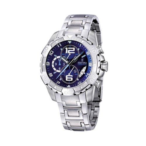 Festina-F163585-Montre-Homme-Quartz-Chronographe-Chronomtre-Bracelet-Acier-Inoxydable-0
