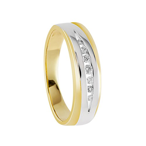 Bella-Donna-105082-Bague-Femme-Or-Jaune-3331000-8-Cts-31-Gr-Diamant-T-50-159-0