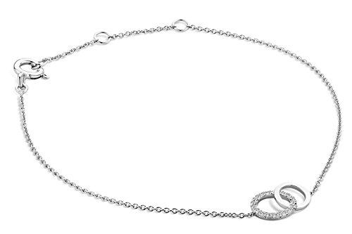 Miore-Bracelet-Extensible-Or-Blanc-9-cts-Diamant-008-cts-18-cm-0